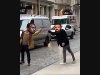 Биф Drake и Kanye West глазами фанатов NR