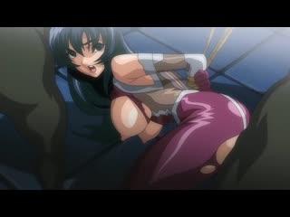 Taimanin Asagi(Охотницы на демонов) - 01 [RUS озвучка БР] [CEN] (Хентай,hentai, bdsm,бдсм, бондаж, изнасилование, rape)