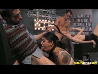 Gina Valentina, Jake Adams, Samantha Hayes - May The Sluttiest Win All Sex, Blowjob, Group, Facial, 1080p