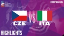 Czech Republic vs. Italy - Game Highlights