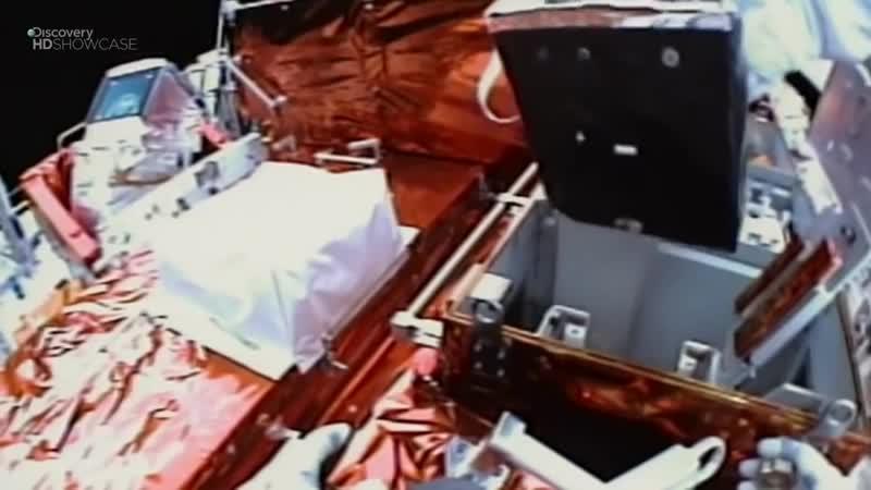 Ремонт телескопа Хаббл – опасная миссия шаттла Атлантис. Discovery HD. Космос, Вселенная