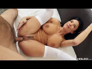 Holed Anissa Kate [Plugged French Maid]