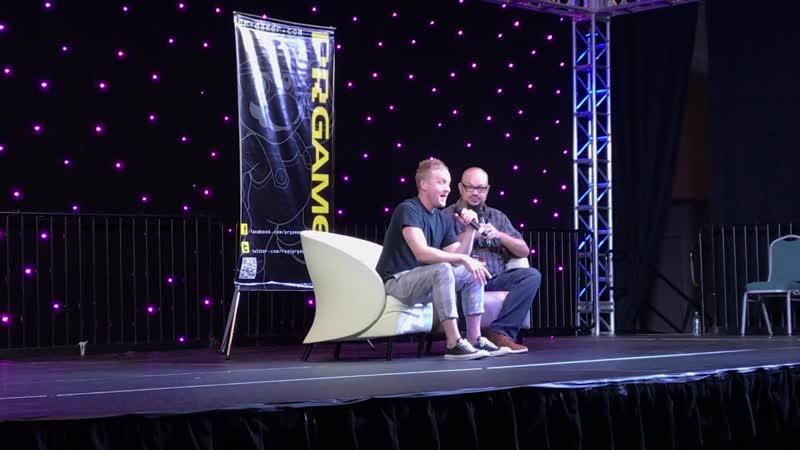QA - Robin Lord Taylor @ Puerto Rico Comic Con 2019.