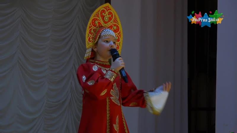 Кристина Кашина Русская народная песня Рассыпала Маланья бобы