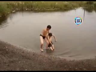 Когда вода очень хорошая