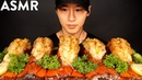 ASMR LOBSTER TAILS MUKBANG (THANK YOU FOR 3 MILLION!) COOKING EATING SOUNDS | Zach Choi ASMR