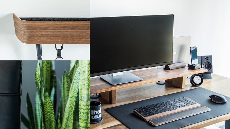 Perfect Productive Workspace – Minimal Office Desk Tour