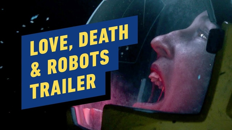 Netflix's Love, Death Robots Trailer (David Fincher, Tim Miller)