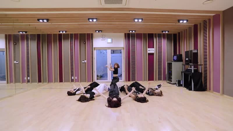 Rocket Punch빔밤붐 BIM BAM BUM mirrored dance practice