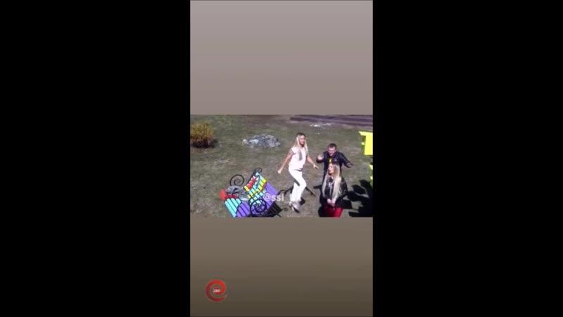 Иосиф Оганесян и Саша Черно в сторис 22 04 2019 Интрига от Иосифа