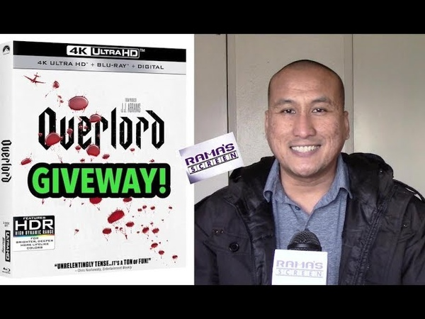 Rama's Screen Giveaway! A Chance to Win 'OVERLORD' 4K Ultra HD Combo Pack