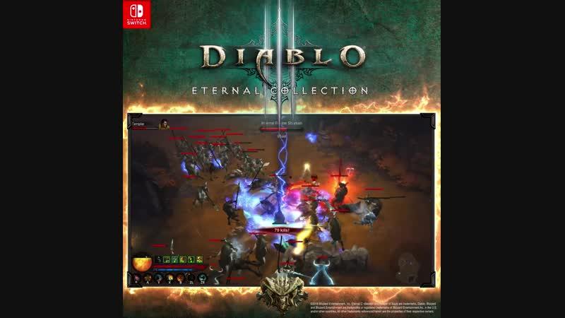 Ганондорф охотится на коров в Diablo III: Eternal Collection