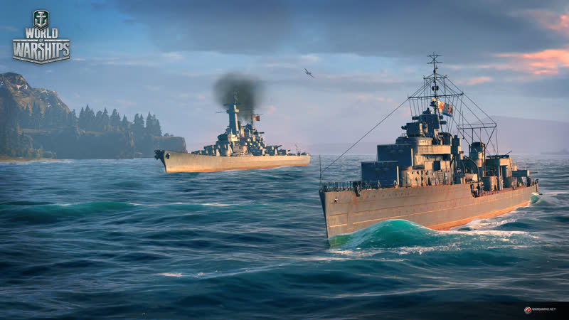 World of Warships Немецкие линкоры 10