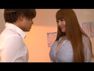 Зрелая училка с огромными сиськами учит парня заниматься сексом Hitomi Tanaka PPPD-618 Японка Азиатка большими teacher big tits