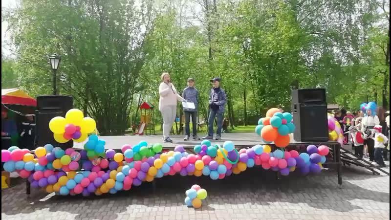 Парк КиО. Череповец. Праздник, посвященный всероссийскому дню близнецов.