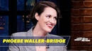 Phoebe Waller Bridge Compares the London Tube to the NYC Subway