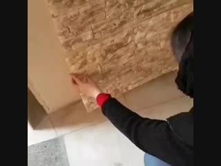 Отделка стен под кирпич без грязи и пыли - Уголок строителя