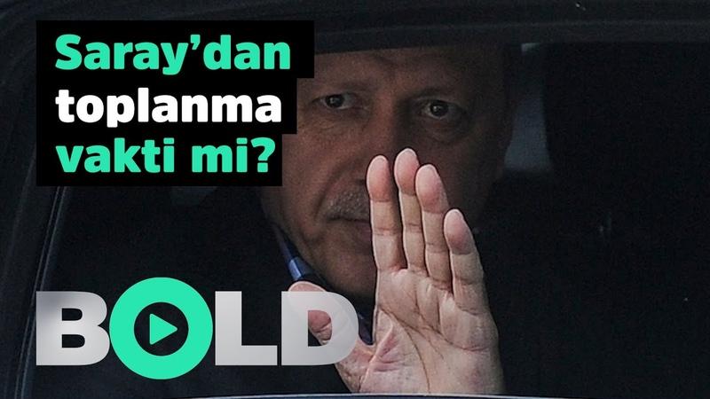 Saray'dan toplanma vakti mi? İşte Erdoğan'ın uykularını kaçıran o anket!