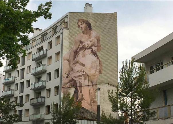 Забытые произведения искусства в стрит-арте Жюльена де Касабьянка
