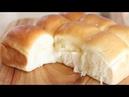 손반죽 How to make dinner roll 모닝빵 만들기 Soft and Fluffy milk bread