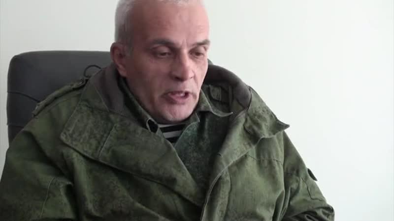 Михаил Шубин рассказал как сидел в яме с мертвыми в Библиотеке тайной тюрьме СБУ в аэропорту Мариуполя