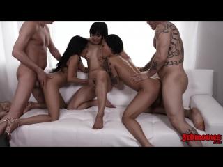 Asian Orgy / Азиатская оргия (Cindy Starfall, Ember Snow, Honey Gold, Marica Hase, Mia Li)
