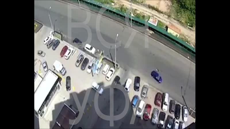 В Уфе автомобиль сбил 18-летнюю девушку и скрылся с места происшествия