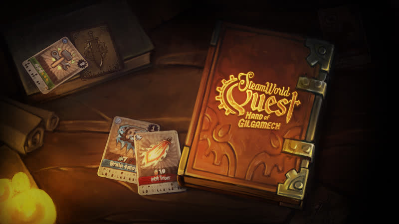 SteamWorld Quest Hand of Gilgamech - Победим зло без героев!.