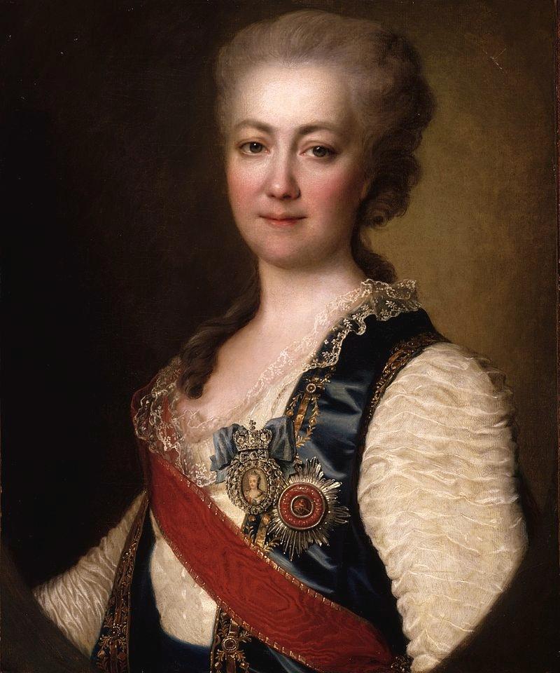 Портрет княгини Екатерины Дашковой, Дмитрий Григорьевич Левицкий, 1784.