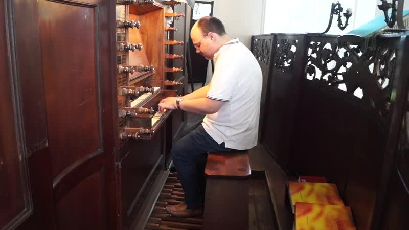 543 J. S. Bach - Prelude and Fugue in A minor, BWV 543 - Rudi Diekstra organ