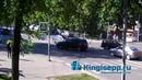 Что-то новенькое незаурядное ДТП в Кингисеппе. Видео момент столкновения с веб-камеры KINGISEPP