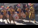 Парад во Флоренции в пальмовое (у нас вербное) воскресенье. Снимали сами.