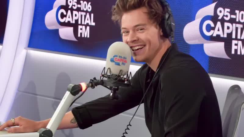 Harry talking about being stuck in California tour and the pandemic on Capital FM