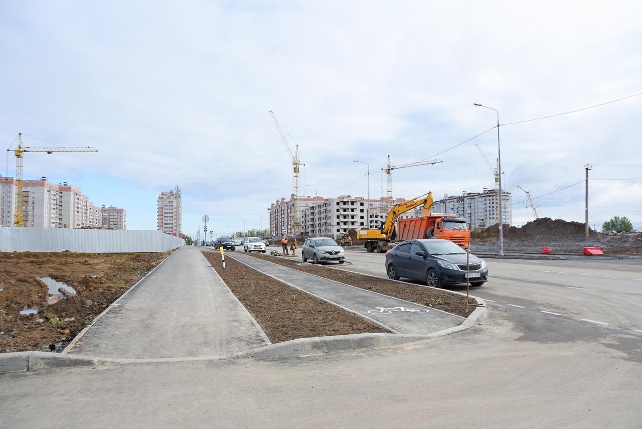 Второй участок дороги на ул. Возрождения достроили в Вологде