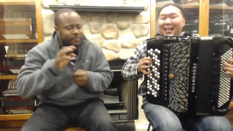Alash Tuvan Throat Singers - _Only You_ Duet Beatbox with Scandalli Air IV Accordion