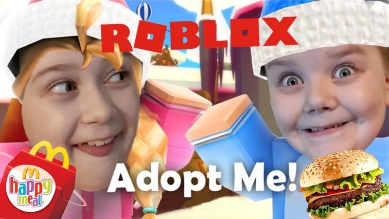 Дима стал Папой😳и непослушная дочка НАСТЯ в игре ROBLOX Adopt my Funny games ТОП игры для детей 👍