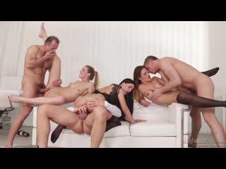 Alexis Crystal, Nicole Vice, Eveline Dellai - Swingers Orgies