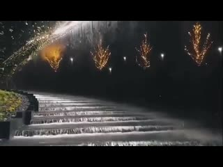 Потрясающий водопад в новой части парка  видео __valeriyfreestyle__