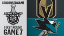 04/23/19 First Round, Gm7: Golden Knights @ Sharks