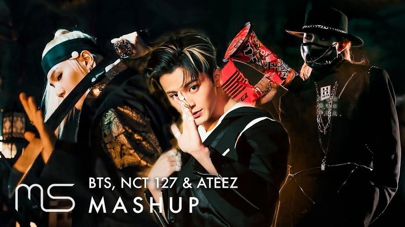 BTS x NCT 127 x ATEEZ – Ugh! Kick It HALA HALA 대취타(Daechwita) No More Dream MASHUP