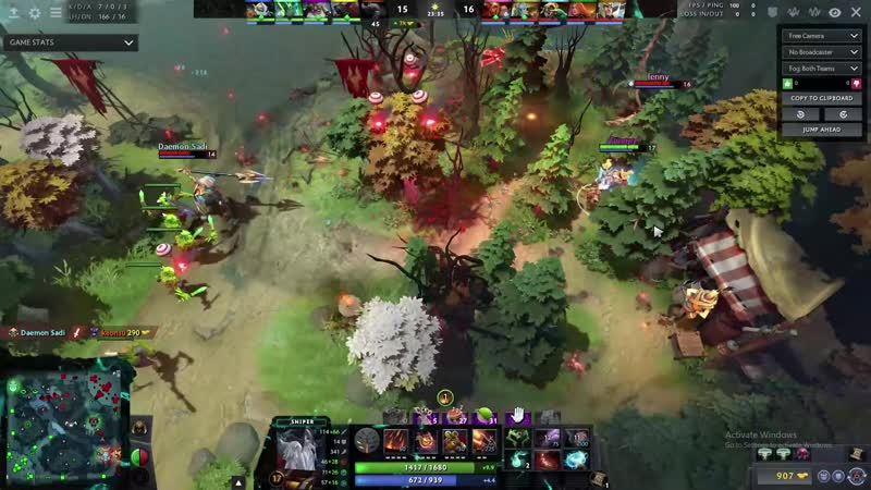 Sniper Waddles to Freedom