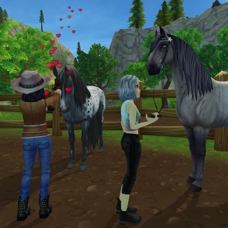 Star Stable on Instagram Gary Goldtooth couldn't stop his intense Midsummer feelings so he just HAD to come to Moorland and join in on the festi