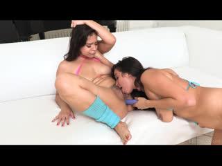 Karlee Grey, Violet Starr - First Lesbian Anal - Lesbian Sex Big Tits Toys Squirt, Porn, Порно
