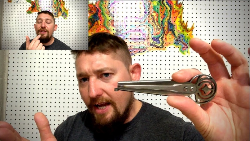 How to make High Pitched Techno Sounds on the Jaw Harp.