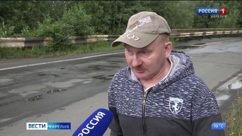 Жители Ладвы обеспокоены состоянием мостов за пределами посёлка