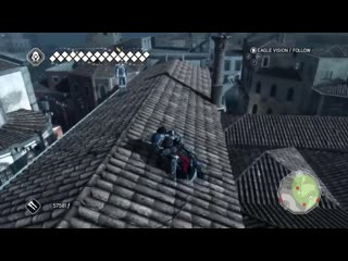 Assassin's Creed 2 Guard brings his cousins to yell at Ezio
