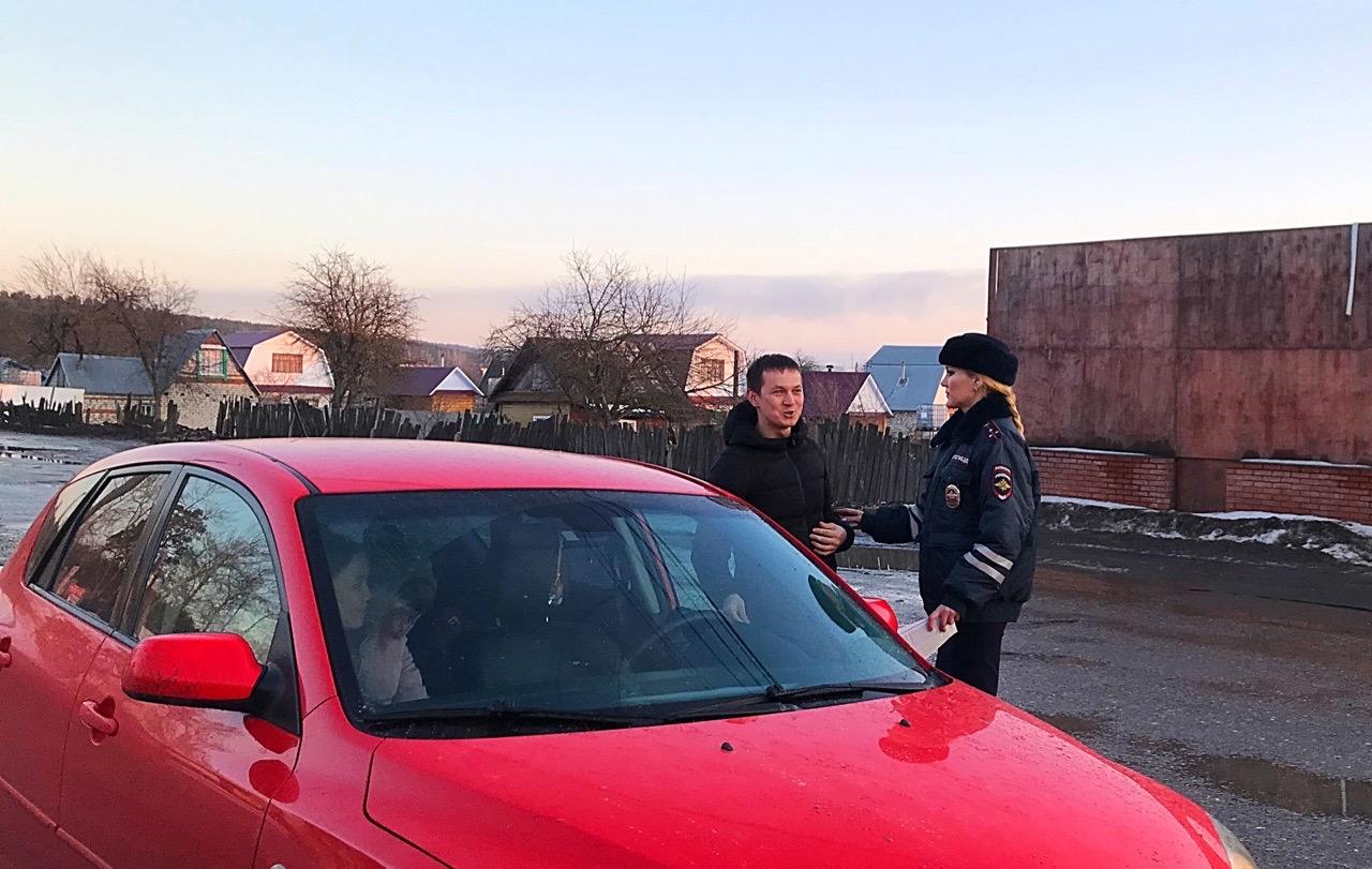 В Волжске провели предпраздничную акцию «Внимание, водитель!»