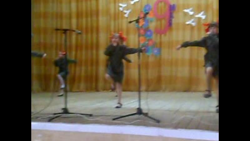 танец Катюша танцевального коллектива Непоседы Лесноуколовского МДК