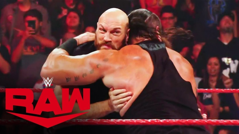 Tyson Fury makes a huge impact in WWE Raw Oct 14 2019
