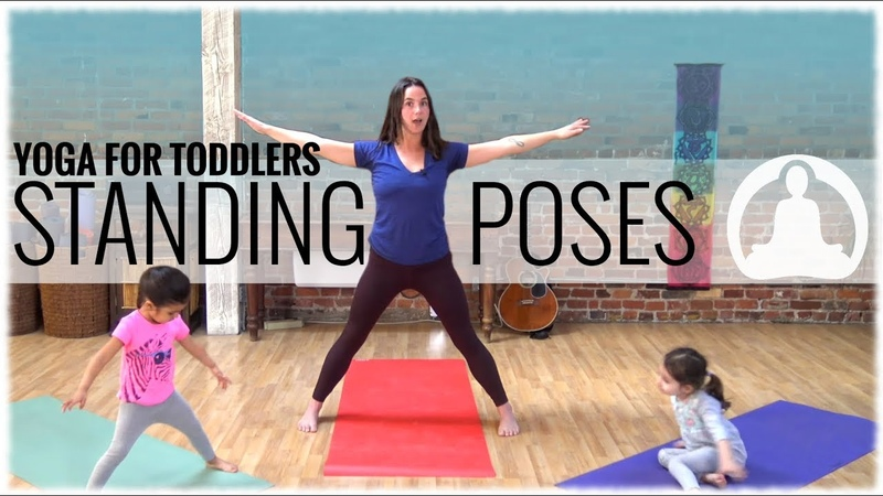 Yoga for Kids with Alyssa-Jean Klazek: Yoga for Toddlers - Standing Poses